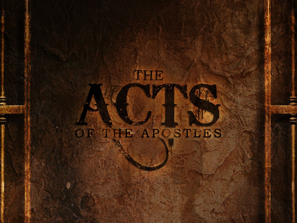 유대교의 배경으로 읽는 사도행전