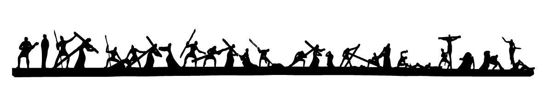 비아돌로로사와 주님의 부활과 승천 일러스트 파일