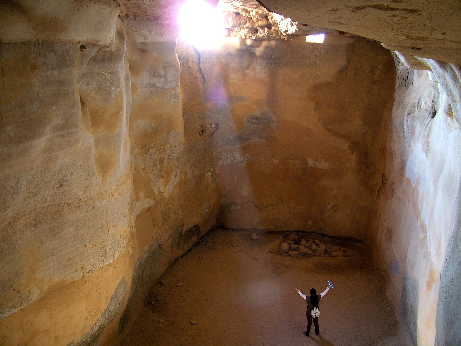 Masada biggiest Cistern